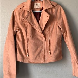 LIKE NEW suede jacket!